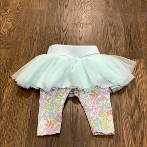 Gap tutu-leggings 0-3 mths
